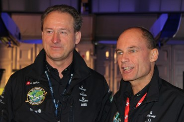 Solar Impulse 2 plane set to circle Earth on sun power