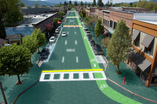 Solar Roadways: energy-generating roads that light up at night