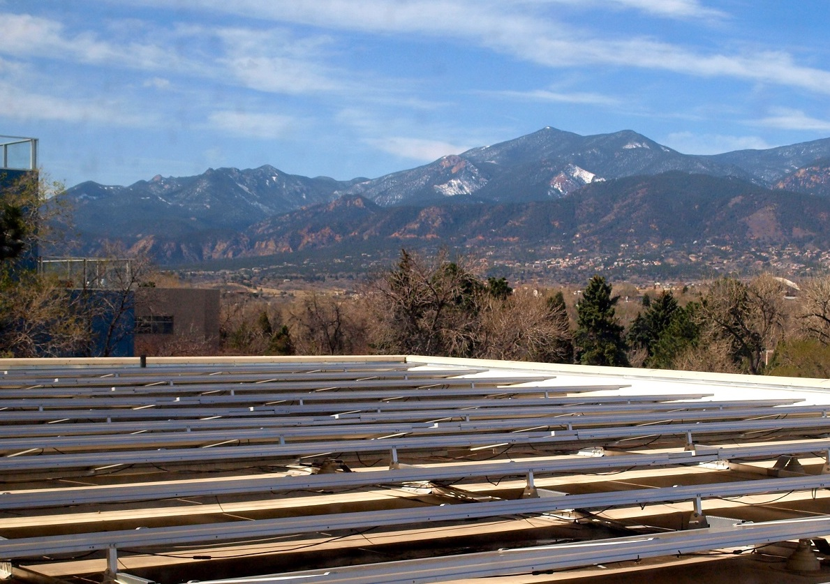 solar panels colorado campus