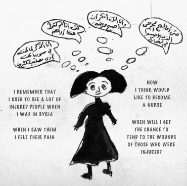 Syrian refugees share their graphic stories (PHOTOS)
