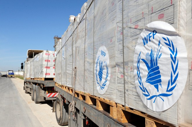UNHCR Food Aid to Gaza
