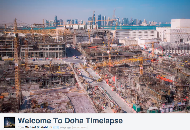 Phenomenal time lapse video makes Doha look like magic