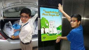 Meet Dubai's eco-warrior…who's just 9 years old!
