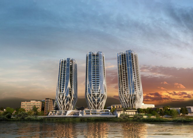 Zaha-Hadid-Toowong-Towers-Brisbane_greenprophet