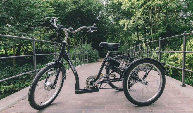 Adult tricycles have never looked so sexy. Especially if you are peddling one for the environment. Parents use them to take their kids to school. Emissions counters use them for moving stuff safely and greenly around the city. Would you ride a trike?