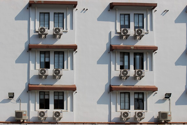 Air conditioners in apartment buidlings