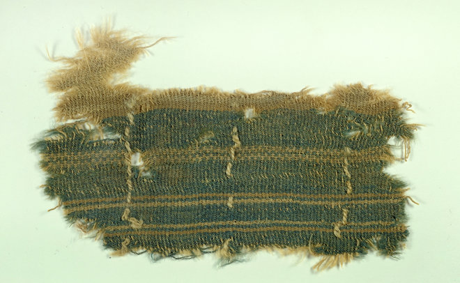 ancient dyed fabric