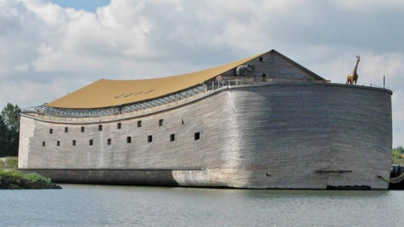 Getting Ready For End Times On A Real-Life Noah's Ark
