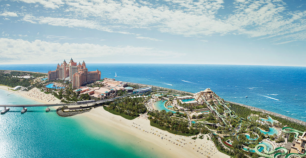Dubai atlantis built city