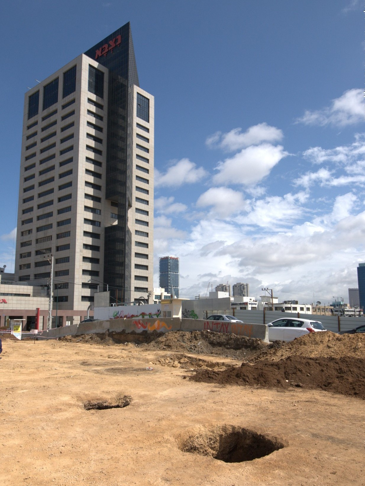 tel aviv city of beer, archeology dig from Egypt