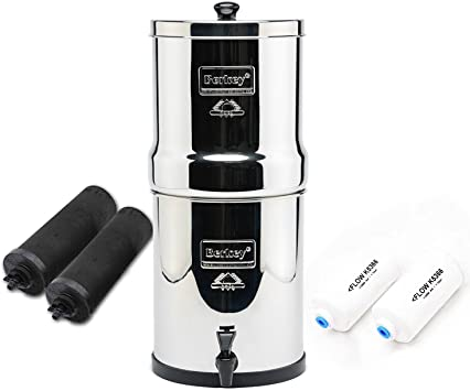Berkey on the go, filters water when you travel