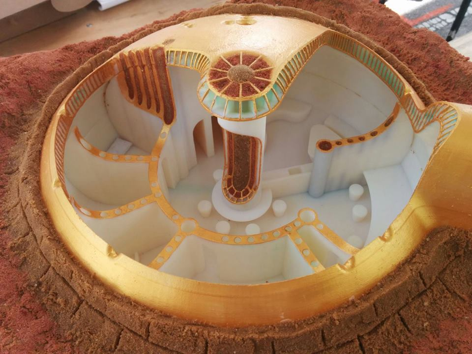 Israelis design 3D-printed home for NASA village on Mars! | Green ...
