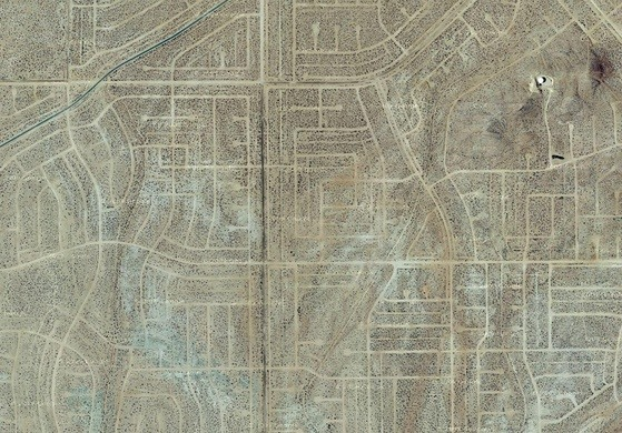 California City, unbuilt suburb
