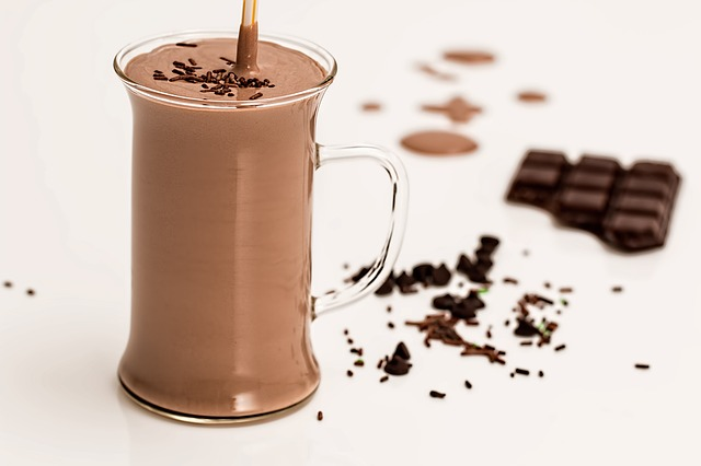 prebiotic chocolate smoothie