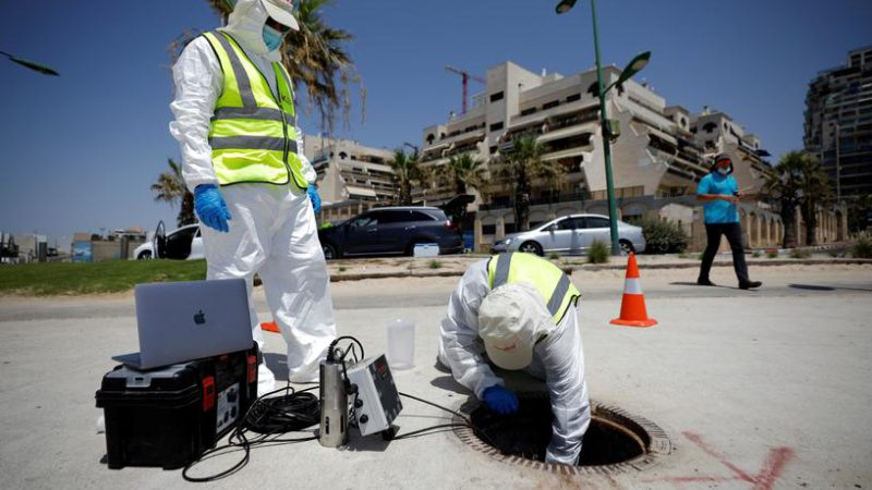 Finding Covid outbreaks in your street sewers
