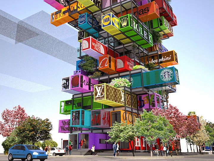 Shipping Container cargotecture Not All Its Stacked Up