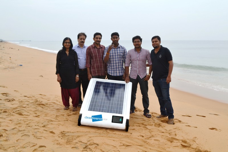 Desolenator offers water independence: just add sun!