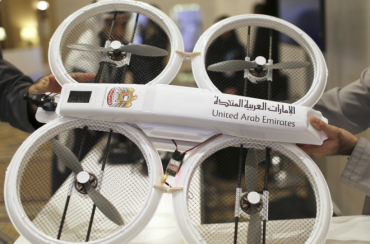 The mailman is a drone in this Middle East country [video]