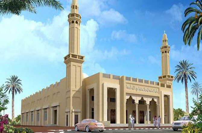 Dubai's huge green mosque polishing off for eco-Muslim masses