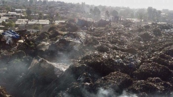 landfill collapse kills dozens