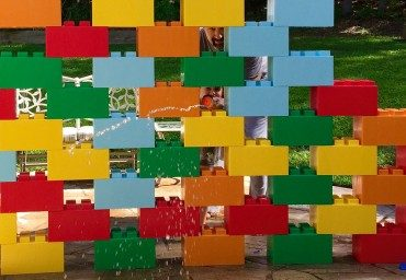 Relive your childhood with adult-sized modular 'lego' bricks