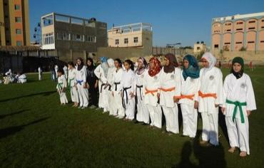 gaza women karate