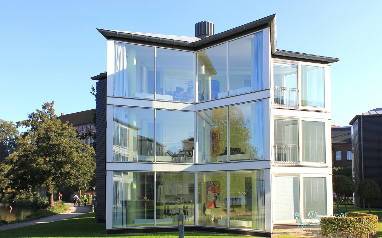 glass house design, hipster