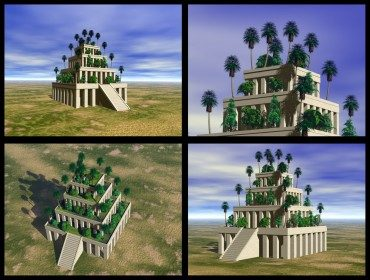 Hanging Gardens of Babylon inspire water farming called hydroponics