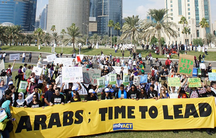 Arab role in climate change