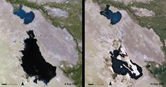 iraq-lake-satellite