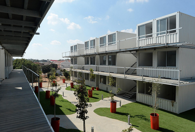 Sustainable Student Village From Shipping Containers