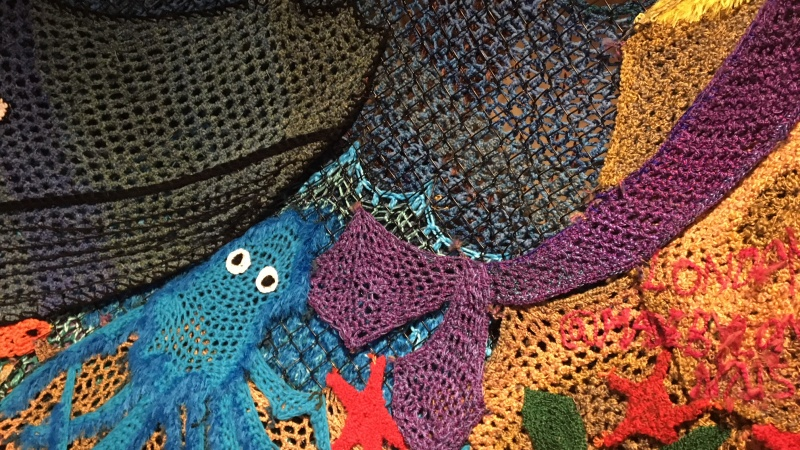 Knitting for pleasure, people, and peace