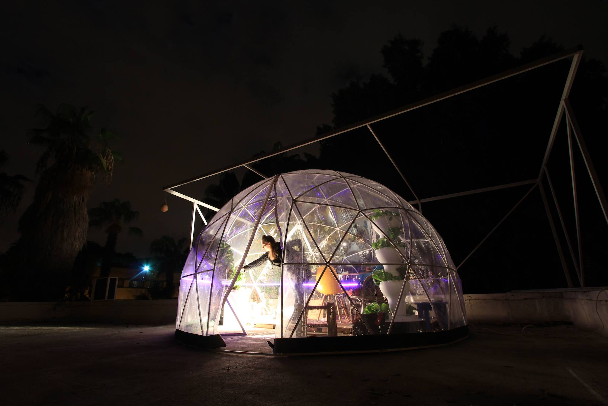 eddy flux biodome grow food on mars