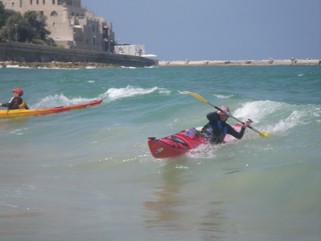 kayaking in israel