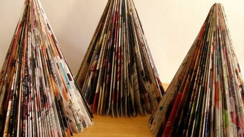 8 alternative Christmas trees green up your holiday!
