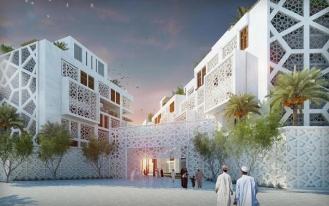 Modern mashrabiya is arab architecture made in the shade for Architecture arabe
