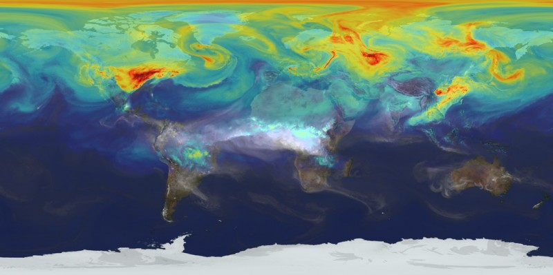 NASA visualizes unfortunate truths about our atmosphere