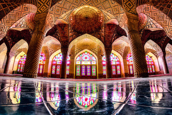 Mohammed Reza Domiri, Iranian photographer, Iranian photography, islamic architecture, religious architecture, photography, mosque photos, beautiful mosque photos, extraordinary photos of mosques, Nasir-Al-Mulk