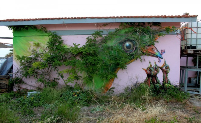 nature grafitti