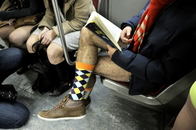 no-pants-toronto-subway