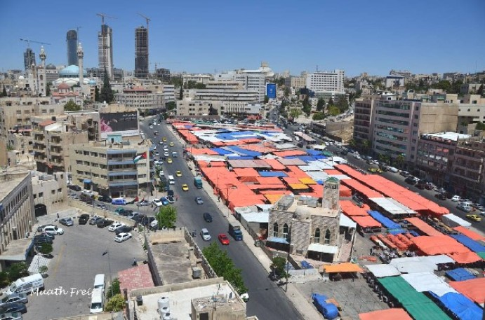 Jordan's Abdali Souk revives in new setting