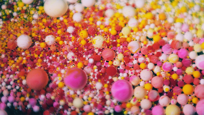 """Ruslan Khasanov's Microbeads in Awesome """"Psychedelic"""" Soap Are Polluting Our Seas"""