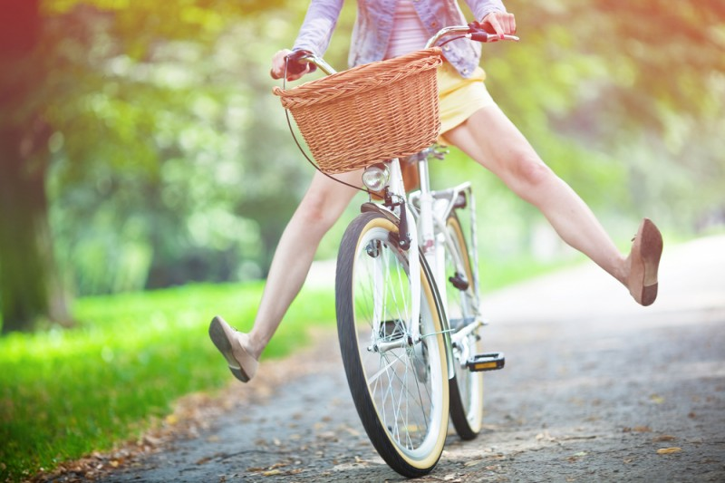 How girls can go wild on bikes – penny in your pants hack, and more tips