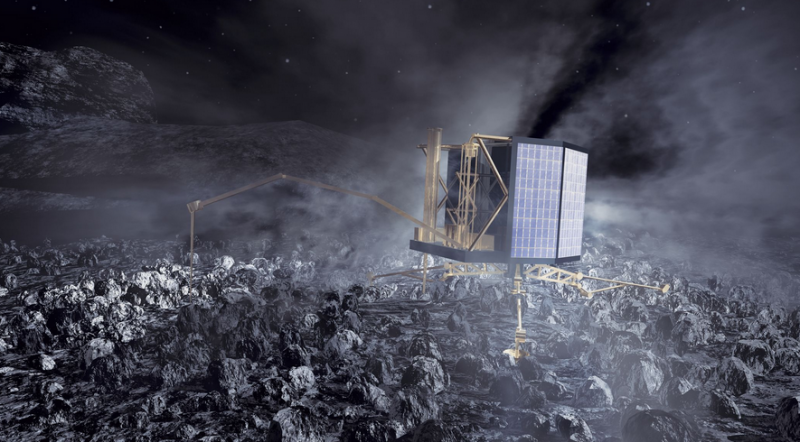 Rosetta attempts comet landing to study our distant past