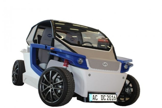 3d printed electric car from Germany