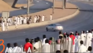 Car drifter king goes to prison in Saudi Arabia