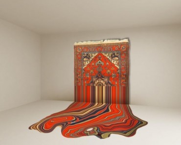 Jameel prizewinner reinvents the iconic Middle Eastern rug