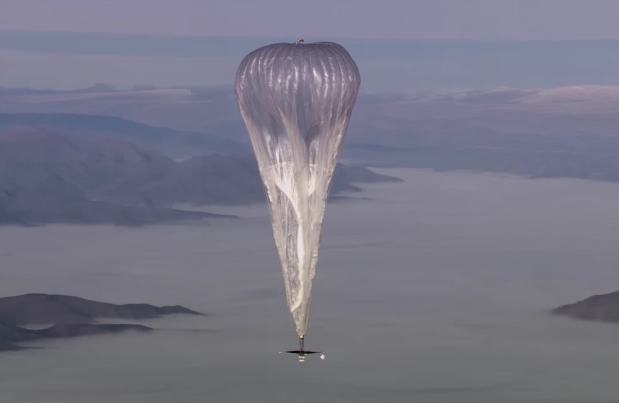 project loon brings internet to people all over the world