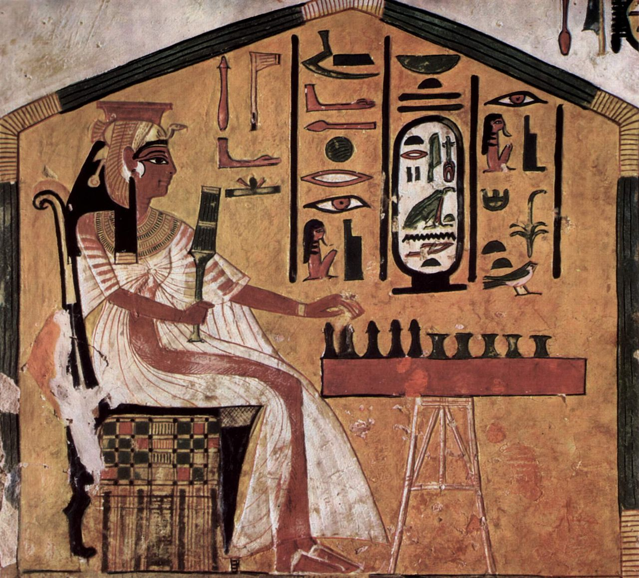 senet, ancient board game from Egypt