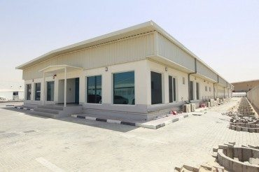 Gulf cargo company makes shipping container cargotecture office
